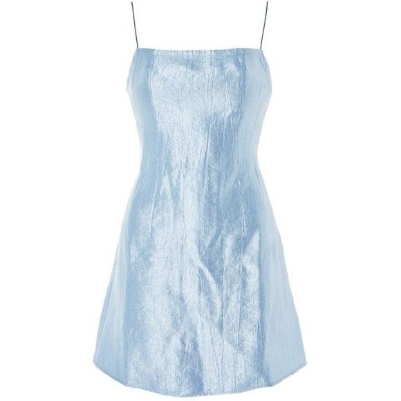 Topshop Blue Party Dress